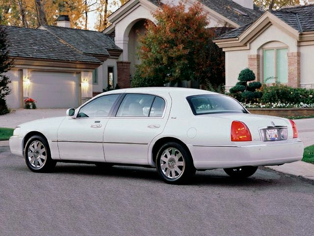 2003 Lincoln Town Car Cartier L In Victorville Ca Los Angeles